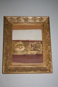 Bladgouden lijst antiek-restaureren