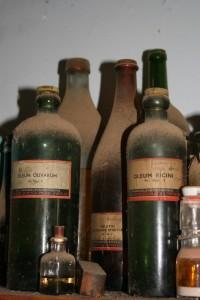 Detail flessen