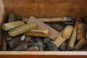 Diversen wassoorten antiek-restaureren