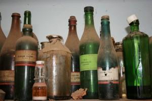 Flessen antiek-restaureren