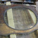 Lijst met glas antiek-restaureren