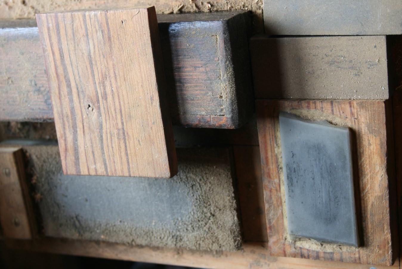 Diversen houtsoorten